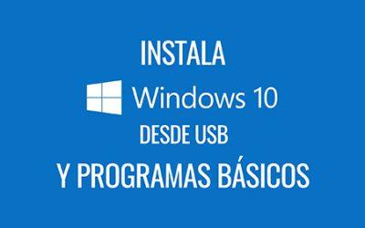CURSO GRATUITO Cómo instalar Windows 10